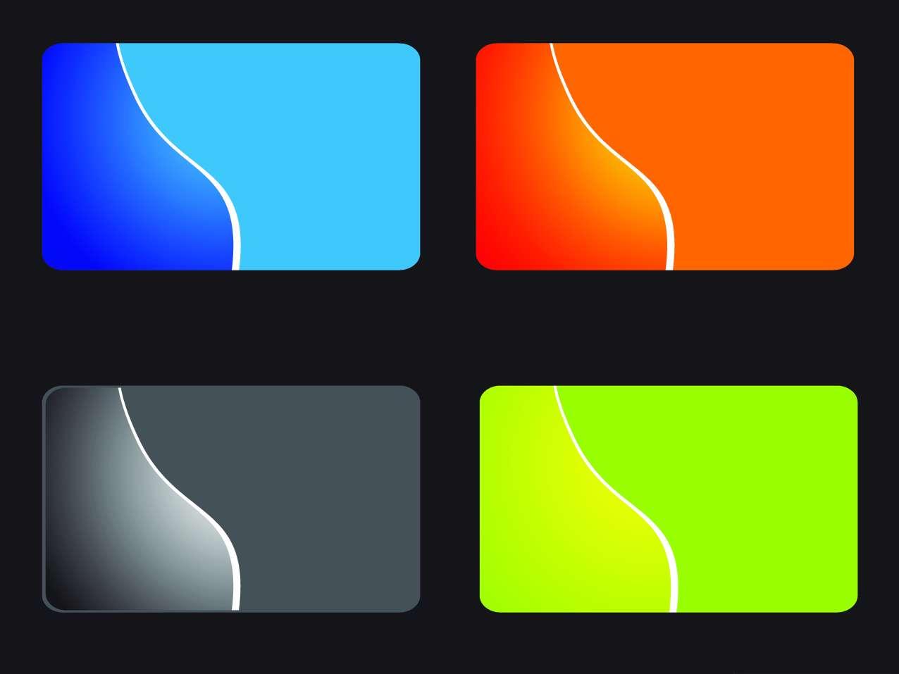 کارت ویزیت تجاری-انتزاعی وکتور Cards Vector