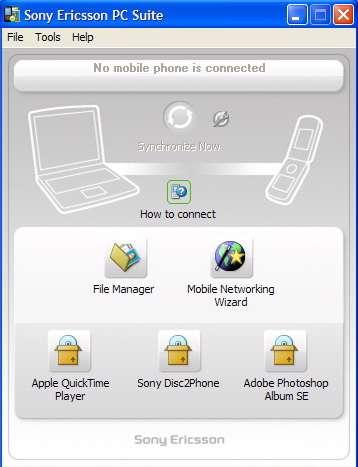 Sony Ericsson PC Suite 6.011.00