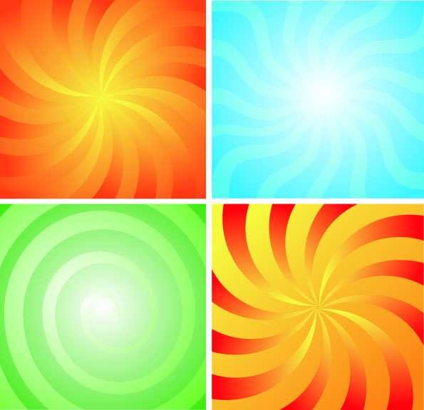 دانلود فرم انتزاعی رنگارنگ و متنوع با فرمت های برداری
