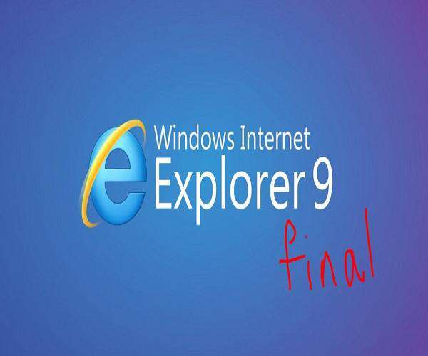 Internet Explorer 9 Final All In One