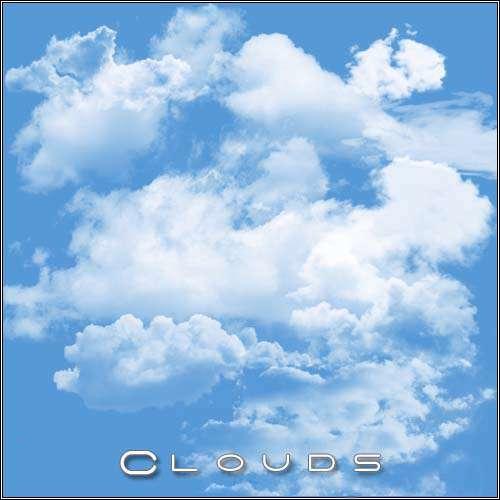 براش ایجاد ابر برای استفاده طراحان و گرافیست ها