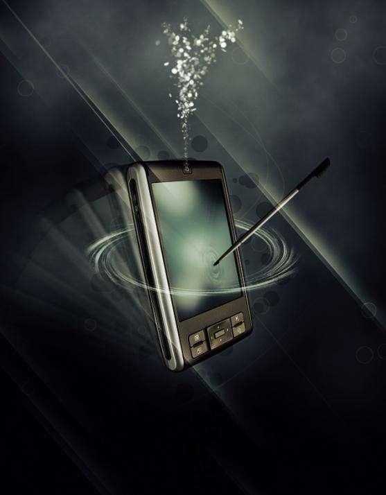 آموزش مرحله به مرحله ساخت آگهی تبلیغاتی گوشی تلفن همراه