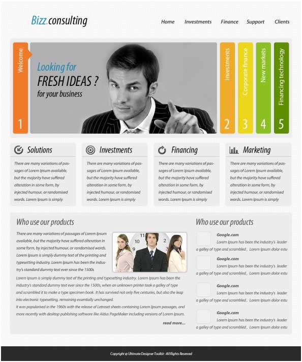 آموزش طراحی یک صفحه بندی تجاری در فتوشاپ