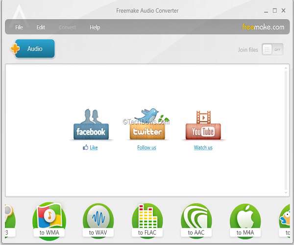 Freemake Audio Converter 1.0.0