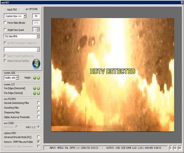 avi.NET 3.5.1.0 تبدیل کننده فرمت های ویدیویی