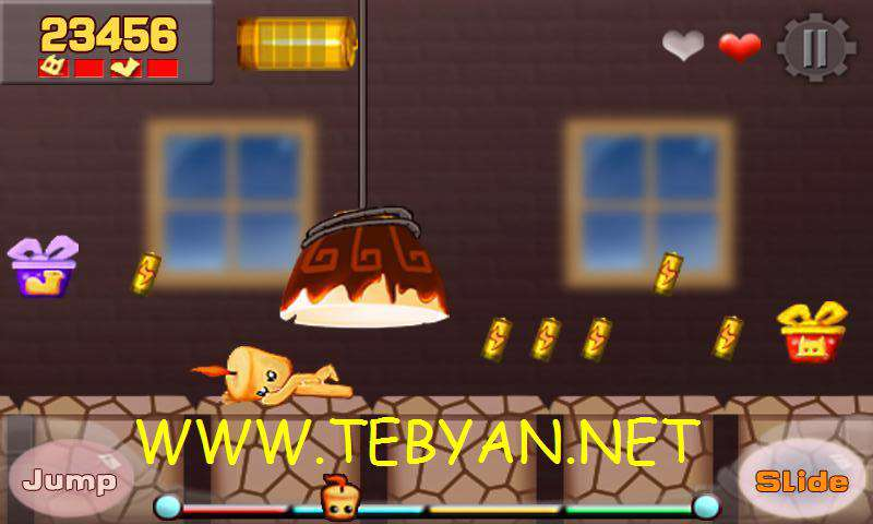 بازی زیبا و سرگرم کننده ی iRunner v1.1.3