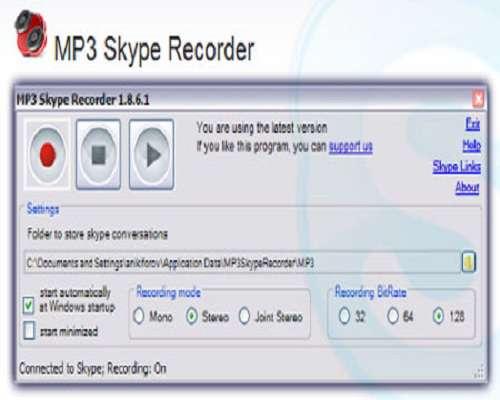 MP3 Skype Recorder 2.1.1