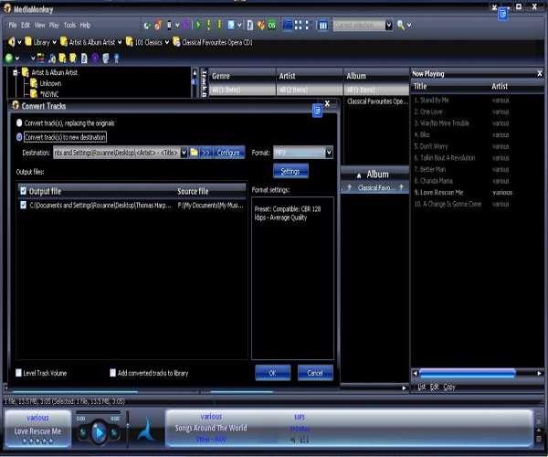 MediaMonkey Gold 3.2.5.1306 پخش موسیقی