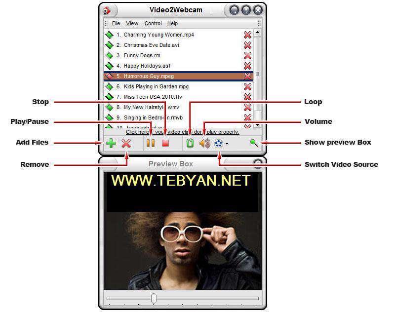 وب کم مجازی Video2Webcam 3.2.6.6