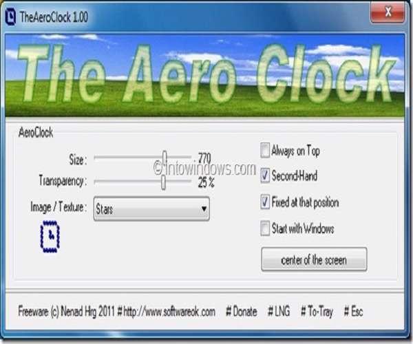The AeroClock 1.21