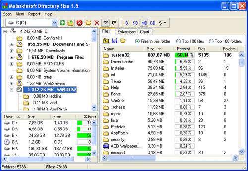 مدیریت فضای هارد دیسک FolderSizes Pro 5.6.46