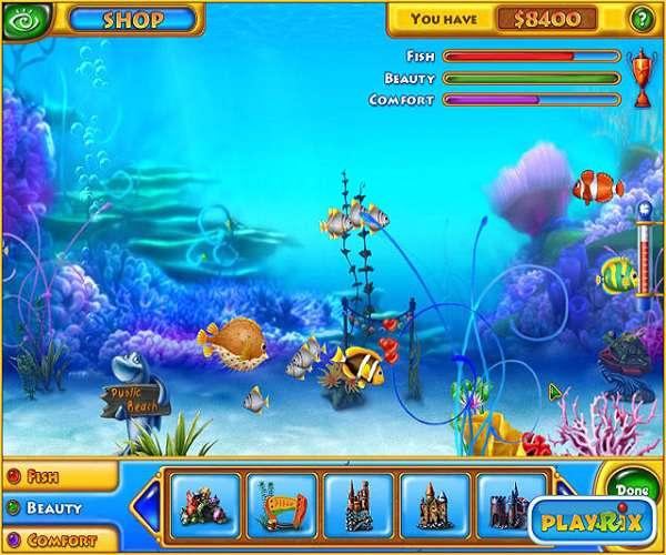 Fishdom بازی کامپیوتری