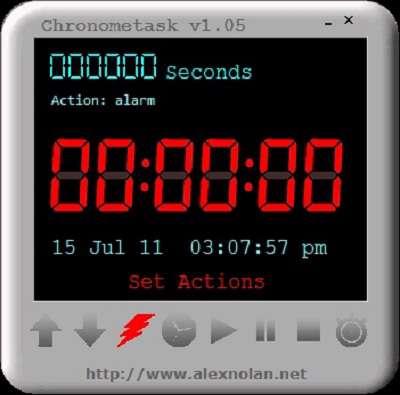 زمان سنجی و به یاد آوردن کار ها با  Chronometask 1.07