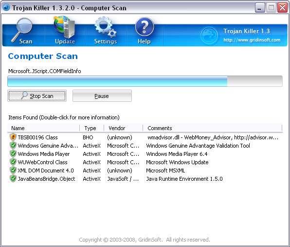 Trojan Killer 2.1.0.8  - ضد تروجان