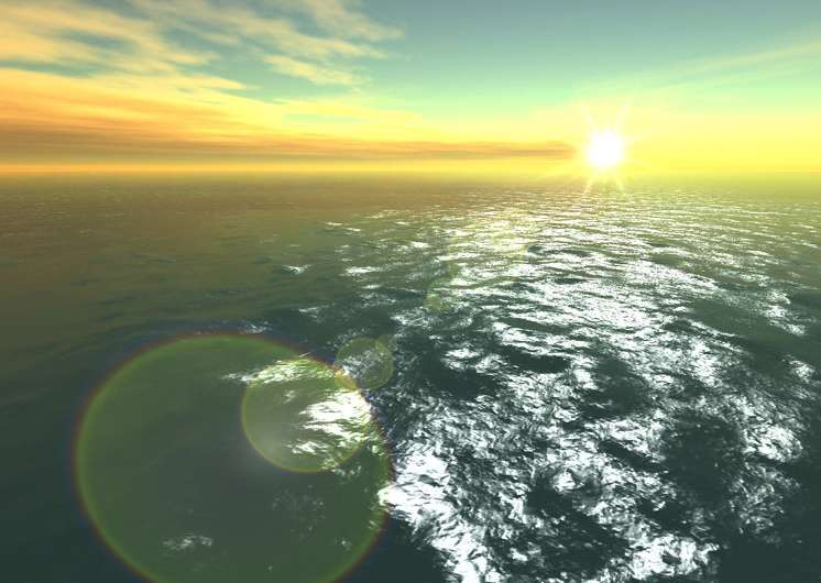 محافظ صفحه نمایش اقیانوس Fantastic Ocean 3D screensaver 1.6