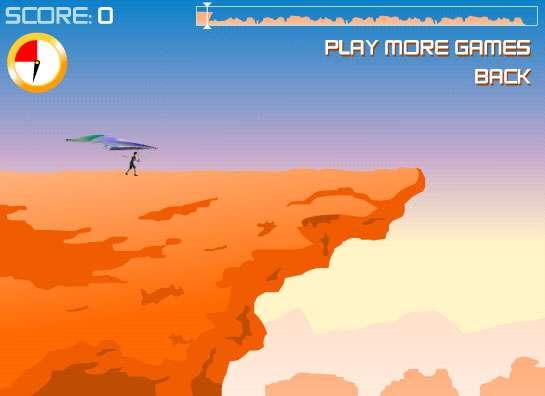 بازی پرواز گلایدر Canyon Glider