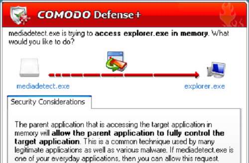 Comodo Firewall 5.8.211697.2124