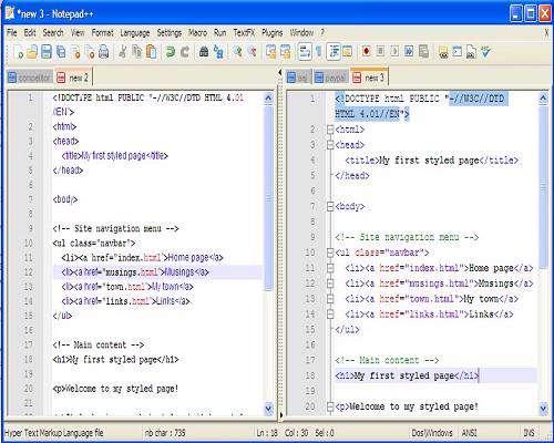 ویرایشگر قدرتمند و ساده متن Notepad++ 5.9.4 Portable