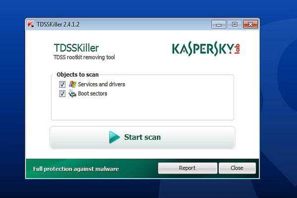 Kaspersky TDSSKiller 2.5.23.0 ضد روت کید