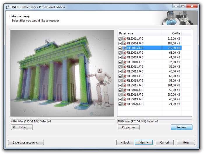 بازیابی اطلاعات پاک شده با OO DiskRecovery 7.0.6476