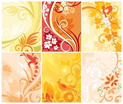 دانلود تصاویر پترن های گل دار Floral Patterns