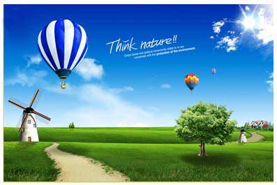 دانلود تصاویر لایه طبیعت سری دوم - Nature Psd