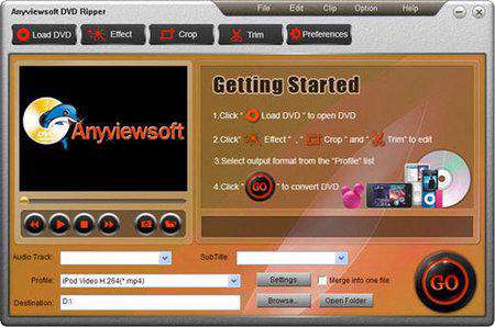 Anyviewsoft DVD Ripper v3.2.12