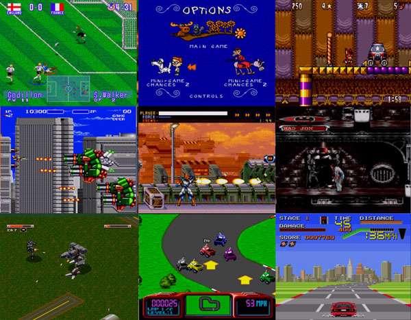 پک 5 بازیهای دستگاه SEGA