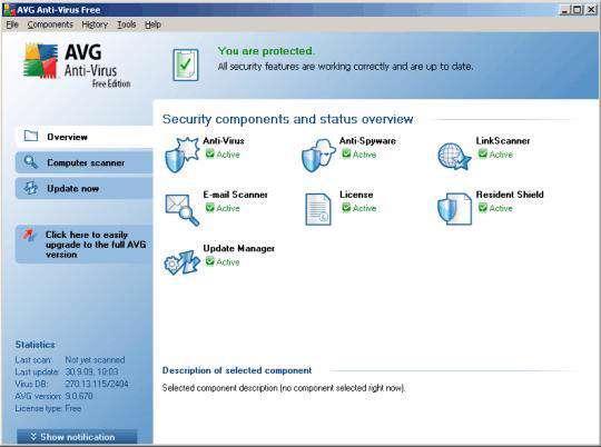 AVG AntiVirus Free 2012 12.0.1872 Build 4616