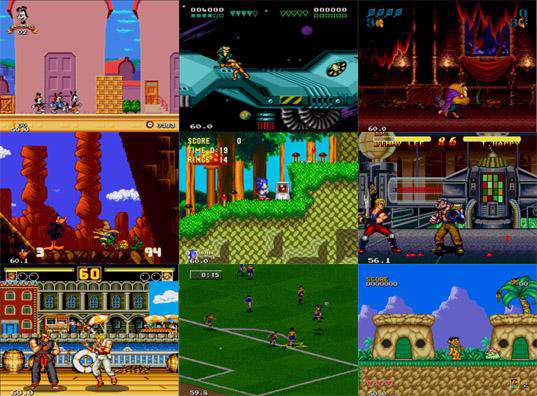 پک 4 بازیهای دستگاه SEGA