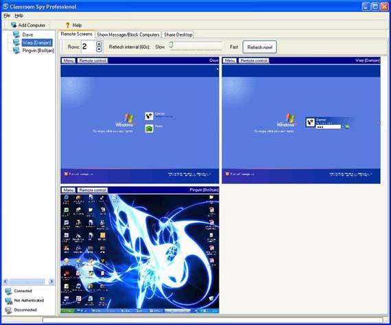 کنترل رایانه ها با Classroom Spy Professional Edition 3.8.1