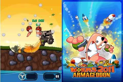 بازی کرمها Worms 2011 Armageddon جاوا