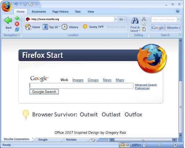مرورگر اینترنت موزیلا فایرفاکس Mozilla Firefox 8 Final