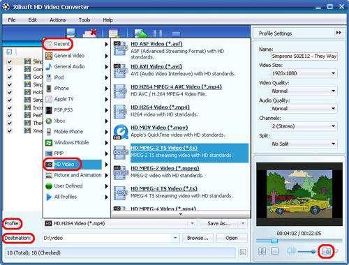 تبدیل عکس و فیلم به کیفیت HD با Xilisoft HD Video Converter 6.7.0