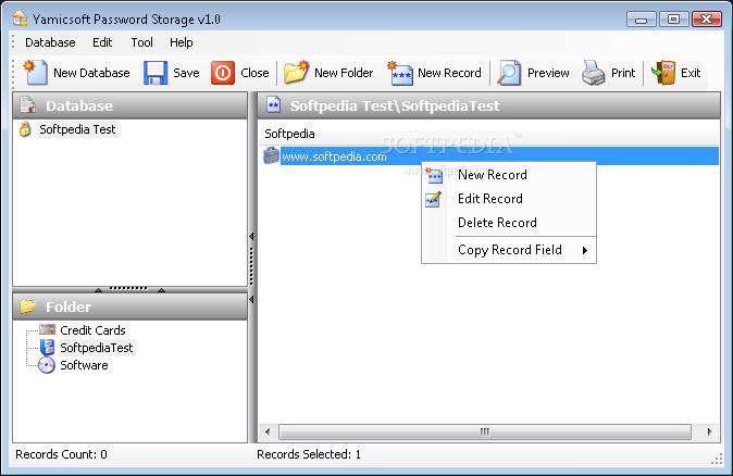 Yamicsoft Password Storage 1.0.1