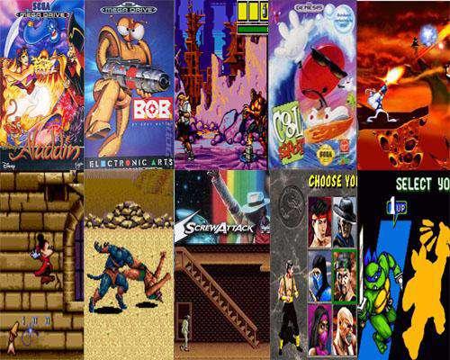 پک 1 بازیهای دستگاه SEGA