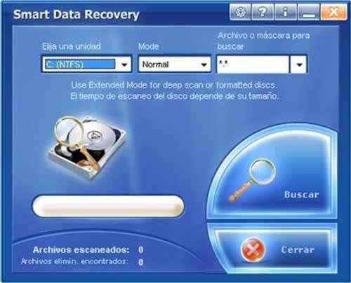 بازیابی اطلاعات هارددیسک و فلش با Smart Data Recovery v4.4.06.09.2011