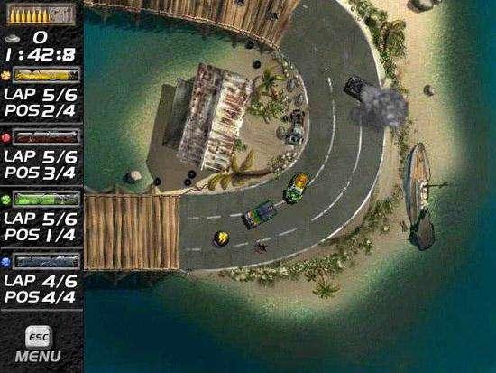 بازی نبرد ماشین ها MAD Cars v1.0