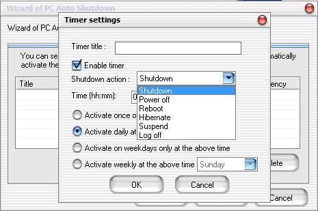 خاموش شدن اتوماتیک کامپیوتر با PC Auto Shutdown 5.0