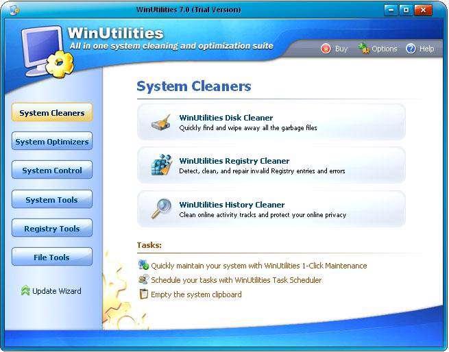 بهینه سازی رایانه با WinUtilities Professional 10.36