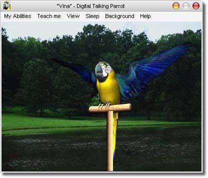 پرنده سخنگو با Digital Talking Parrot 1.0.14