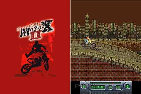 بازی موبایل موتورسواری با حرکات نمایشی Freestyle MotoX II جاوا