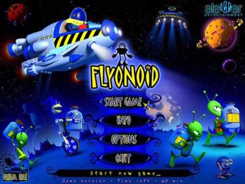 بازی فضایی جالب Flyonoid