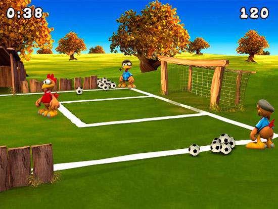 بازی فوتبال جوجه فوتبالیست های دیوانه Crazy Chicken Soccer