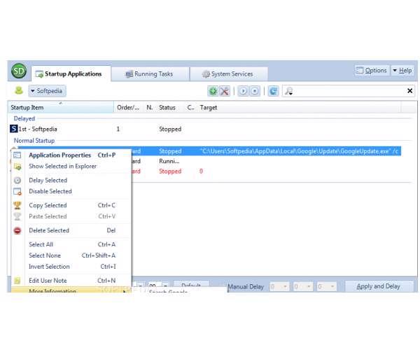 Startup Delayer 3.0.318 - بهینه ساز ویندوز