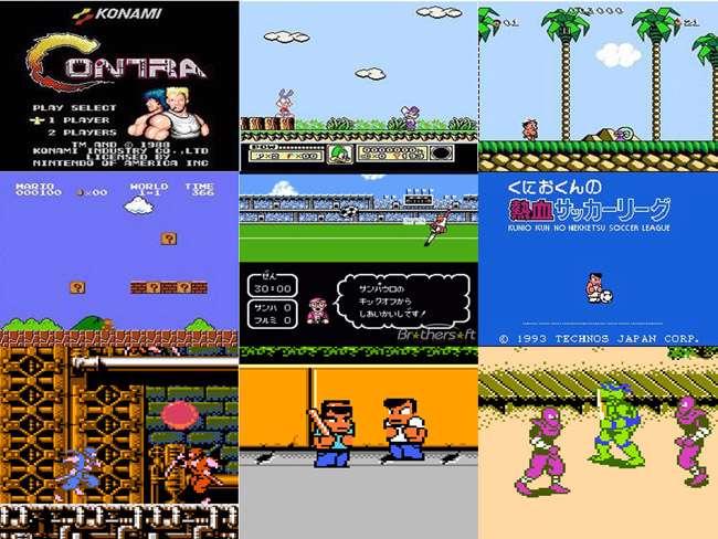 پک 120 بازی نینتندو(میکرو) به همراه شبیه ساز