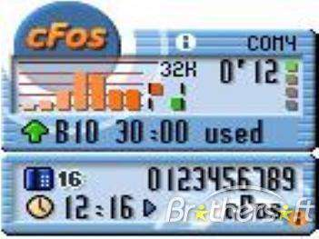 cFosSpeed 7.00 Build 1901 - نمایش سرعت اینترنت