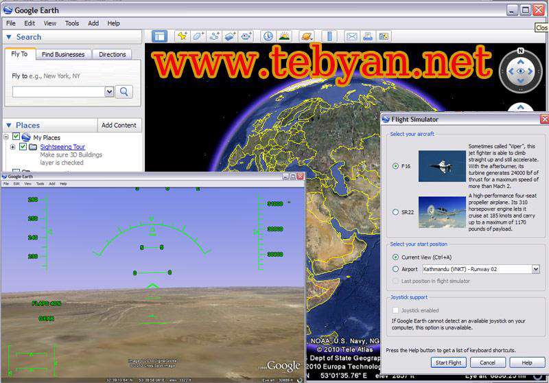 Google Earth Plus 6.0.3 Build 2197