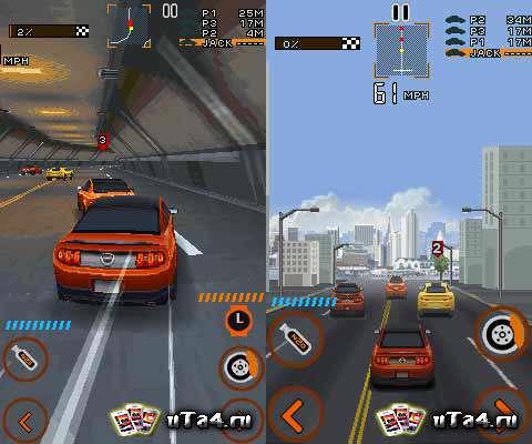 بازی موبایل جنون سرعت مسیر Need for Speed: The Run جاوا