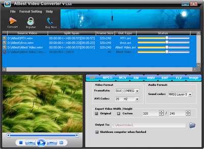 تبدیل فرمت های تصویری / ABest Video Converter Spirit v7.0
